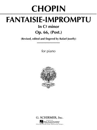 Fantasie Impromptu, Op. 66 in C# Minor