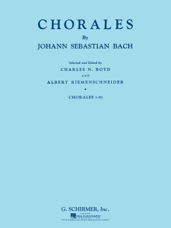 Bach Chorales 1-91, Open Score