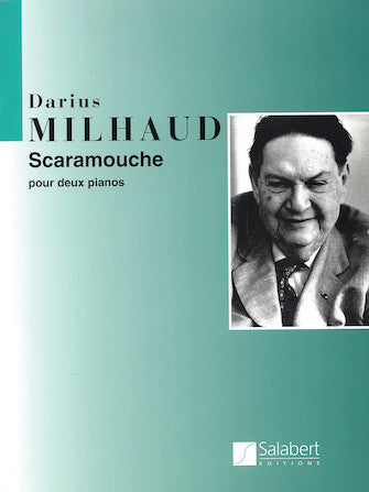 Milhaud Scaramouche (set) Piano Duet