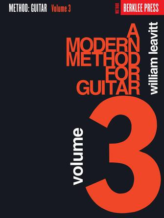 Modern Method for Guitar - Volume 3