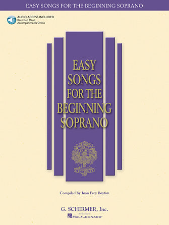 Easy Songs for Beginning Singers - Soprano