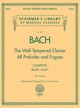 Bach Well-Tempered Clavier - Complete