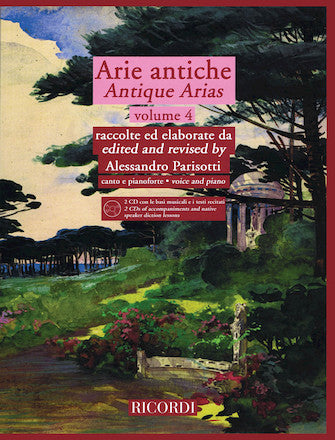 Arie Antiche Volume 4 (Antique Arias)