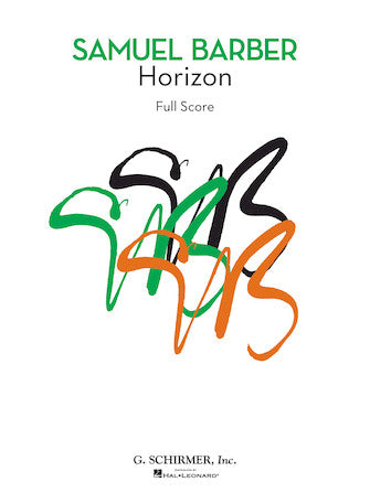 Horizon - Full Score, First Edition