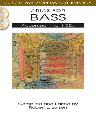 Arias for Bass - G. Schirmer Opera Anthology