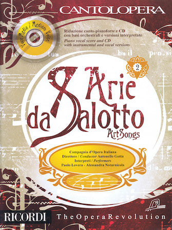 Art Songs - Cantolopera Series Vol. 2 Med Voice