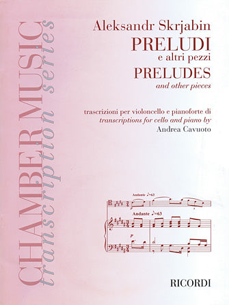 Preludes and Other Pieces for Violoncello and Piano