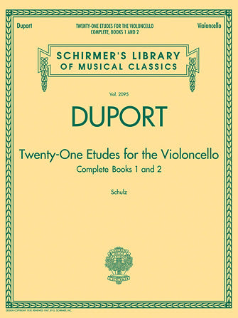 Duport - 21 Etudes for the Violoncello, Books 1 & 2
