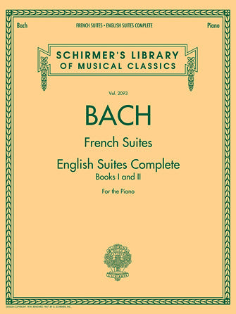 Bach - French Suites · English Suites Complete Edition