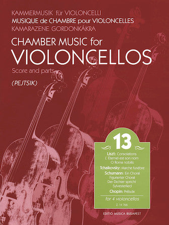 Chamber Music For Violoncellos For 4 Violoncellos 13