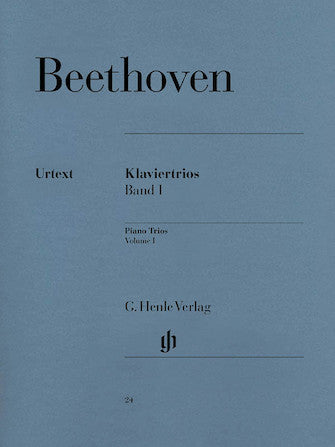 Beethoven Piano Trios Volume 1