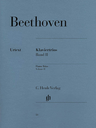 Beethoven Piano Trios Volume 2