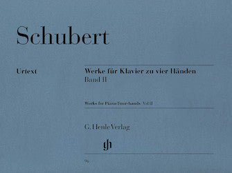 Schubert Works for Piano Four-Hands - Volume II
