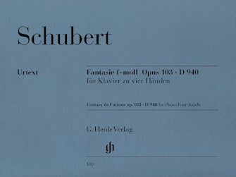 Schubert Fantasy in F minor Opus 103 D 940