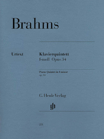 Brahms Piano Quintet in F minor Opus 34