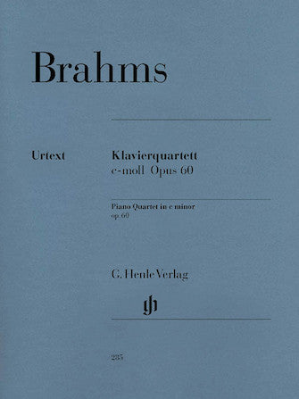 Brahms Piano Quartet in C minor Opus 60