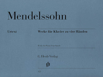 Mendelssohn Works for Piano Four-Hands