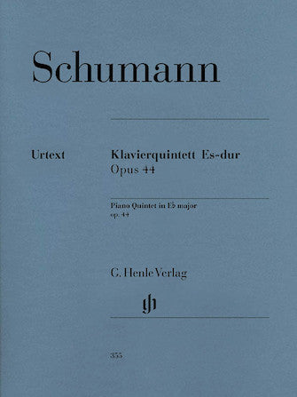 Schumann Piano Quintet in E flat major Opus 44