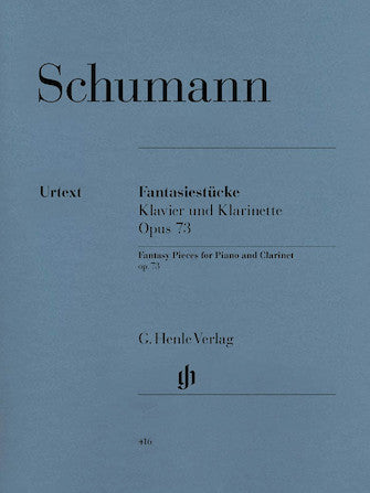 Schumann Fantasiestucke (Fantasy Pieces) for Piano and Clarinet Opus 73