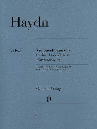 Haydn Concerto for Violoncello and Orchestra in C major Hob.VIIb:1