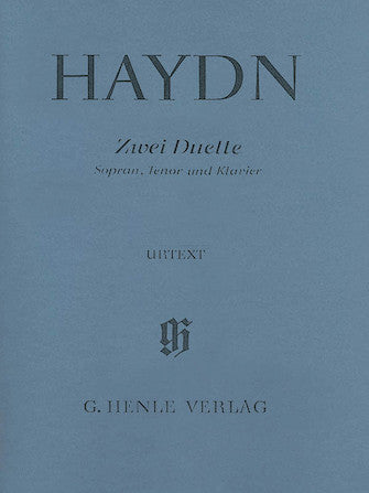 Haydn 2 Duets for Soprano, Tenor and Piano Hob.XXVa:2 and 1