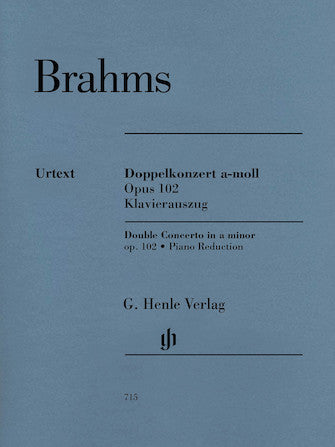 Brahms Double Concerto in a minor Opus 102