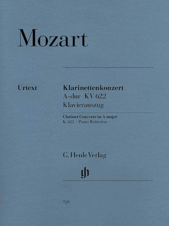 Clarinet Concerto in A Major, K622