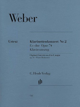 Weber Clarinet Concerto No 2 in E flat major Opus 74