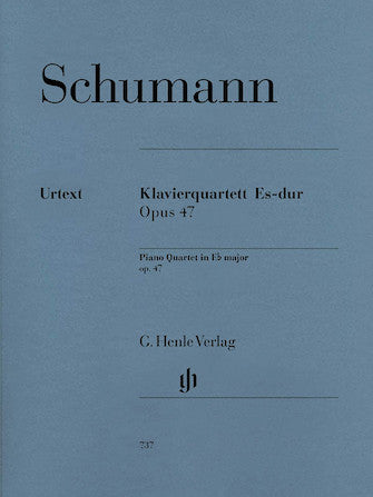 Schumann Piano Quartet in E flat major Opus 47