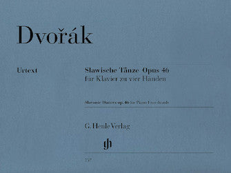 Dvorak Slavonic Dances Opus 46 for Piano Four-Hands