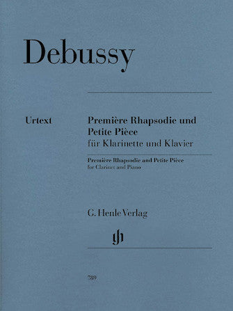 Debussy Premiere Rhapsodie and Petite Piece