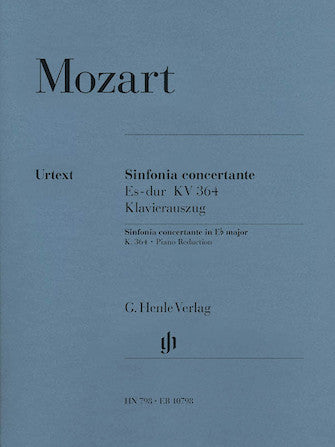 Mozart Sinfonia Concertante in E flat major K 364