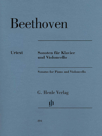 Beethoven Sonatas for Piano and Violoncello