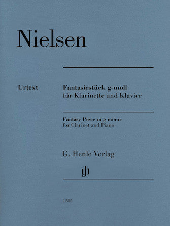 Nielsen Fantasy Piece in G minor for Clarinet and Piano