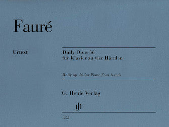 Faure Dolly Opus 56 (for 1 piano 4 hands)
