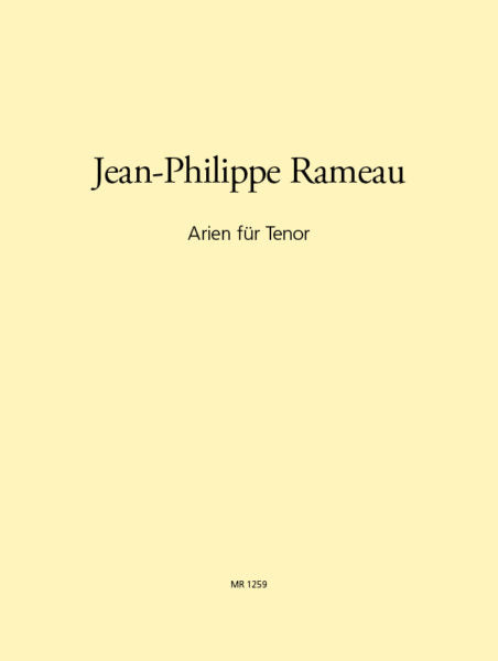 Rameau Arias for Tenor