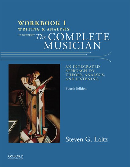 Complete Musician Workbook 1: Writing and Analysis 4th Edition