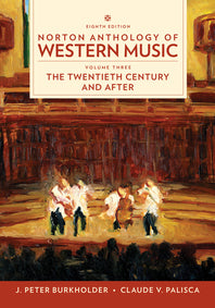 Norton Anthology of Western Music, Vol. 3, 8th edition