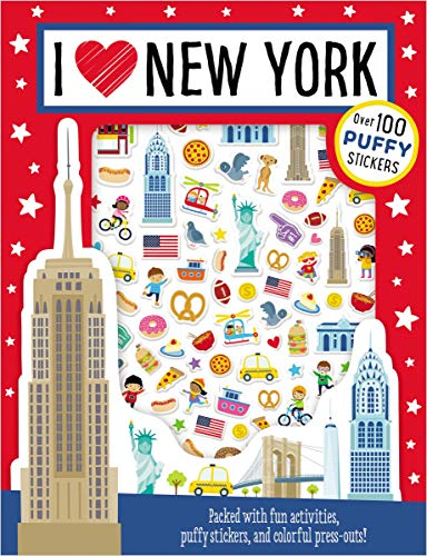 I Love New York (Puffy Stickers)