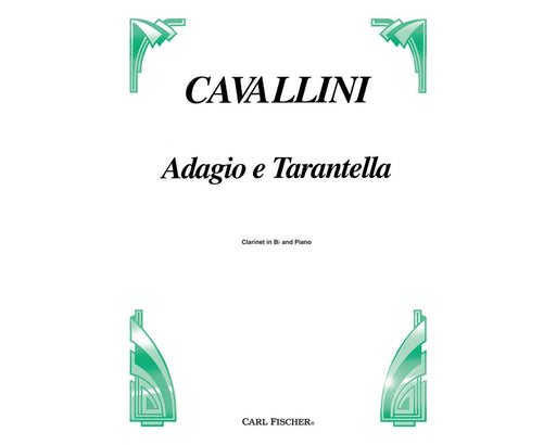 Cavallini Adagio E Tarantella for Clarinet and Piano