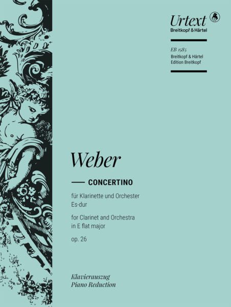 Weber Concertino in E flat major Opus 26