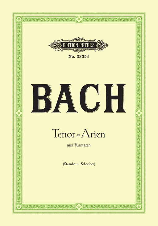 Bach 15 Tenor Arias from Cantatas