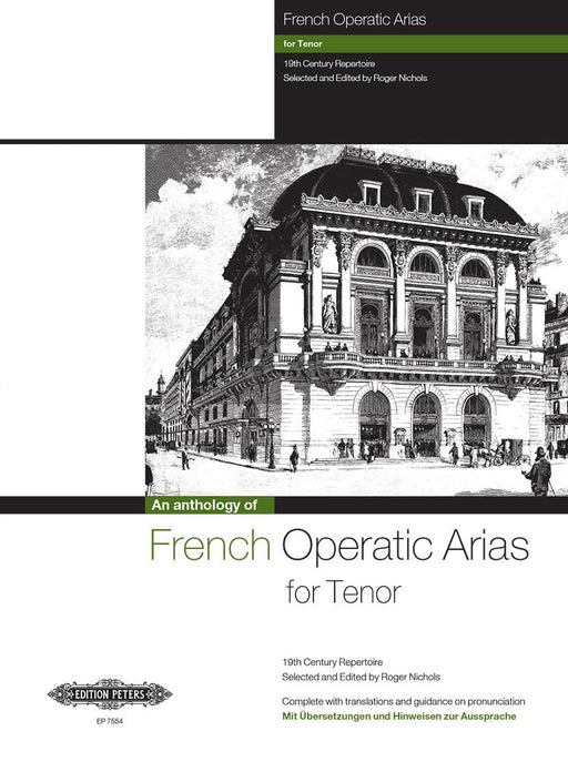 French Operatic Arias for Tenor