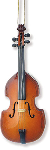 Double Bass Ornament