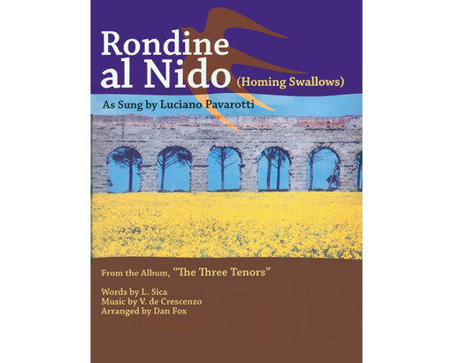 Crescenco Rondine Al Nido for Tenor & Piano in G major