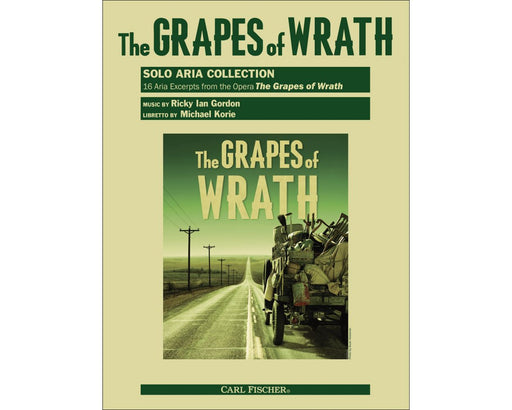 Gordon The Grapes of Wrath Solo Aria Collection