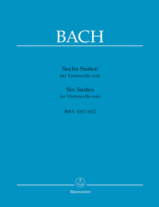 Bach Six Suites for Violoncello solo BWV 1007-1012