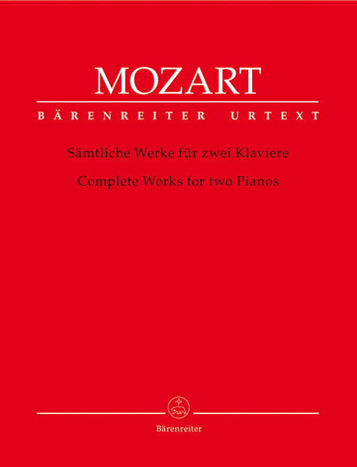 Mozart Complete Works for Two Pianos