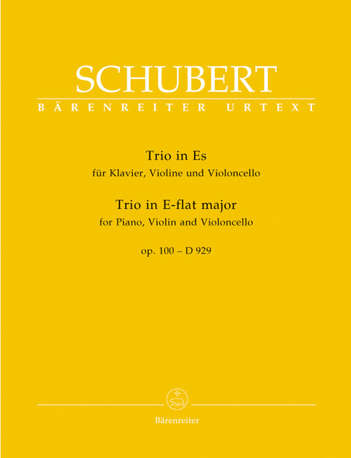 Schubert Piano Trio in E flat major Opus 100 D 929
