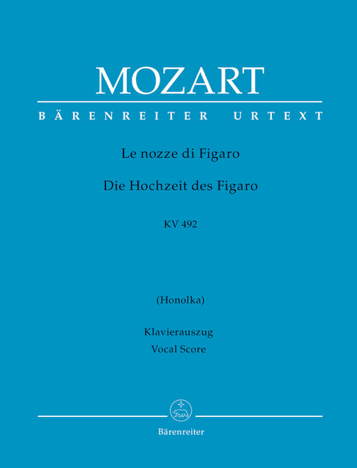 Mozart Marriage of Figaro - Hardcover Vocal Score